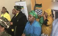 Nkosazana Dlamini-Zuma arrives at Sasolburg for the Cadres Assembly. Picture: Clement Manyathela/EWN.