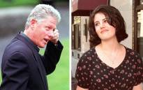 Bill Clinton and Monica Lewinsky. Picture: AFP.