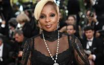 US singer/songwriter Mary J Blige at the Cannes Film Festival in May 2017. Picture: AFP.