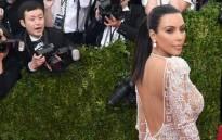 FILE: Kim Kardashian. Picture: AFP.