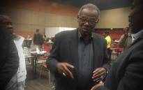 Long-serving Inkatha Freedom Party leader Mangosuthu Buthelezi at the IEC result centre in KZN. Picture: Kgothatso Mogale/EWN