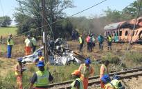FILE: Clean-up operations begin at the scene of a train crash in Kroonstad, Free State. Picture: Sethembiso Zulu/EWN.