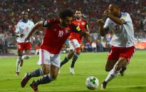 FILE: Egypt's Mohamed Salah vies for the ball against Congo's Tobias Badila during their World Cup 2018 Africa qualifying match between Egypt and Congo at the Borg el-Arab stadium in Alexandria on 8 October, 2017. Picture: AFP