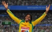 South African Olympic Athlete Caster Semenya. Picture: AFP.
