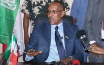 Somaliland President Musa Bihi Abdi. Picture: AFP