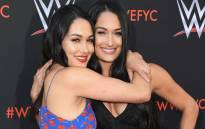"Brie Bella and Nikki Bella attend WWE's First-Ever Emmy ""For Your Consideration"" Event at Saban Media Center on 6 June 2018 in North Hollywood, California. Picture: AFP"