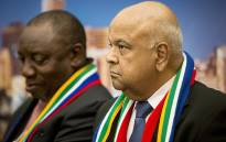 FILE: Finance Minister Pravin Gordhan speaks to potential investors at a Brand South Africa briefing at the World Economic Forum in Switerland on 17 January 2017. Picture: Reinart Toerien/EWN.