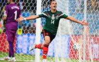 All-time top scorer Javier Hernandez sealed victory in the second half at the World Cup match against South Korea. Picture: Fifa World Cup Twitter