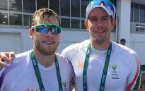 Lawrence Brittain and Shaun Keeling. Picture: EWNSport.