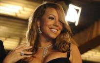 Mariah Carey. Picture: AFP.