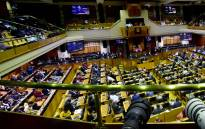 FILE: Members of Parliament during debate of the State of the Nation Address. Picture: GCIS.