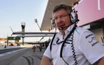 Managing director for motorsport Ross Brawn. Picture: AFP.