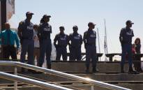 Police patrol during festive season operation at the V&A Waterfront. Picture: Cindy Archillies/EWN
