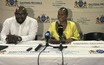 Gauteng Health MEC Gwen Ramokgopa updating the media on her department's readiness for the festive season. Picture: Masego Rahlaga/EWN.