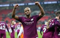 Manchester City club captain Vincent Kompany celebrates a win. Picture: @VincentKompany/Twitter
