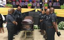 The funeral service for legendary actor Joe Mafela. Picture: Kgothatso Mogale/EWN