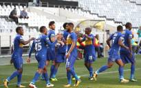 Cape Town City FC celebrate a win. Picture: @MrCPT/Twitter