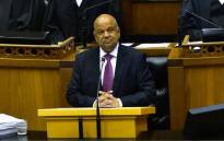 Finance Minister Pravin Gordhan delivering his 2017 Budget speech in Parliament on 22 February 2017. Picture: GCIS.