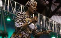 FILE: FILE: Zimbabwe's First Lady Grace Mugabe. Picture: AFP