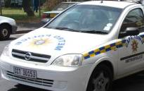 FILE:  Cape Town Metro police vehicle