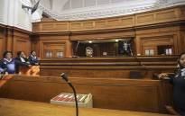FILE. Murder accused British businessman, Shrien Dewani sits in the dock during proceedings of his murder trial in the Western Cape High Court on 6 October 2014. Picture: Thomas Holder/EWN.