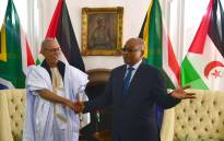 FILE: President Jacob Zuma meets President of the Sahrawi Arab Democratic Republic Brahim Ghali at Sefako Makgatho Presidential Guesthouse. Picture: GCIS.