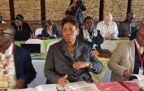 Basic Education Minister Angie Motshekga launched the ministerial task team report on the feasibility of a curriculum change in Freedom Park, Pretoria on 31 May 2018. Picture: @SAgovnews/Twitter