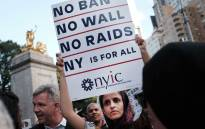 Hundreds of immigration advocates and supporters attend a rally and march to Trump Tower in support of the Deferred Action for Childhood Arrivals program also known as DACA on 30 August 2017 in New York City. Picture: AFP.