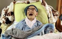 A picture taken by Kyotango Government on 19 April 2013 shows the world's oldest person, Jiroemon Kimura, smiling as he celebrates his 116th birthday. Picture: AFP