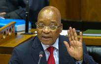 FILE: President Jacob Zuma speaks in Parliament. Picture: GCIS.