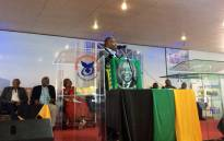 African National Congress President Cyril Ramaphosa on Saturday 3 February 2018 at a meeting with traditional leaders in Limpopo. Picture: Twitter/@MyANC.