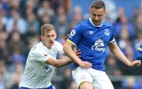 Everton vs Leicester City at Goodison Park on 9 April 2017. Picture: @LCFC.