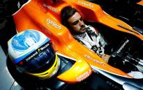 FILE: McLaren driver Fernando Alonso waits to head onto the track. Picture: @McLarenF1/Twitter