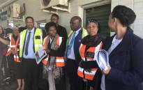 Prasa's new interim board on 28 May 2018 embarked on a tour of Metrorail facilities in Johannesburg. Picture: Thando Kubheka/EWN