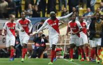 Monaco players celebrate a goal. Picture: @ChampionsLeague/Twitter