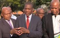 Gauteng Human Settlements MEC Paul Mashatile. Picture: EWN.