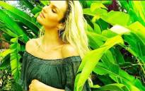 Candice Swanepoel revealed on Instagram that she is pregnant with her second child. Picture: @angelcandices