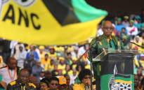 President Jacob Zuma delivering his 8th January statement to ANC members at Orlando Stadium as the party marks its 105th anniversary. Picture: Christa Eybers/EWN