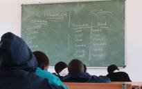 FILE: Pupils sitting in their class at the Samson Senior Primary School in the Eastern Cape. Picture: EWN.