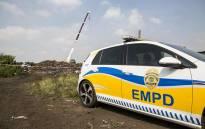 FILE: An Ekurhuleni Metro police car. Picture: EWN