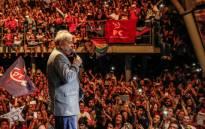Brazil's former President Luiz Inacio Lula da Silva. Picture: Ricardo Stuckert via @LulapeloBrasil/Twitter.