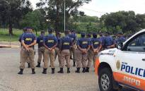 Johannesburg Metro Police Department officers. Picture: @JMPDSafety
