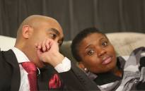 The National Director of Public Prosecutions of the National Prosecuting Authority (NPA) advocate Shaun Abrahams (left) and Deputy National Director of Public Prosecutions Nomgcobo Jiba (right) at the NPA's head office in Pretoria on 7 July 2015. Picture: EWN