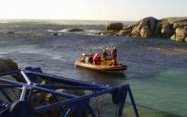 File picture of NSRI officials at work in the Western Cape. Picture: NSRI.