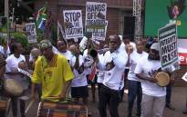 FILE: Save SA supporters sing and dance during their march through Pretoria. Picture: Kgothatso Mogale/EWN.