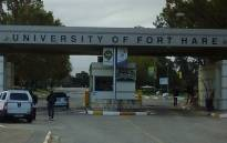 Entrance to the University of Fort Hare. Picture: @SAgovnews via Twitter