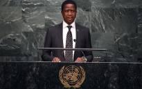 FILE: Zambian President Edgar Chagwa Lungu. Picture: AFP.