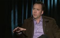FILE: Nicolas Cage. Picture:Screengrab/CNN.