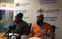 Gauteng Transport MEC Ishmael Vadi and Gauteng Community Safety MEC Sizakele Nkosi-Malobane briefing the media on the closure of five Soweto taxi ranks on 11 July 2017. Picture: Hitekani Magwedze/EWN