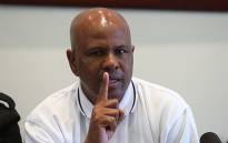 FILE: Amcu's Joseph Mathunjwa speaks during a media briefing. Picture: EWN